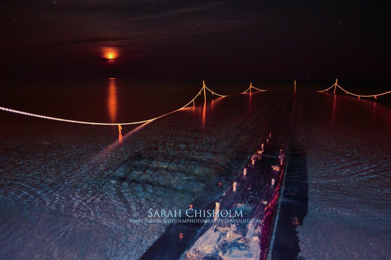 Shipwreck Moonset